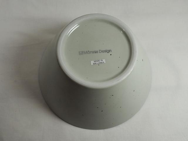Manses Design OVANAKER Bowl Medium Blue line/モンセスデザイン オーバノーケル ボウル M /ブラウンライン