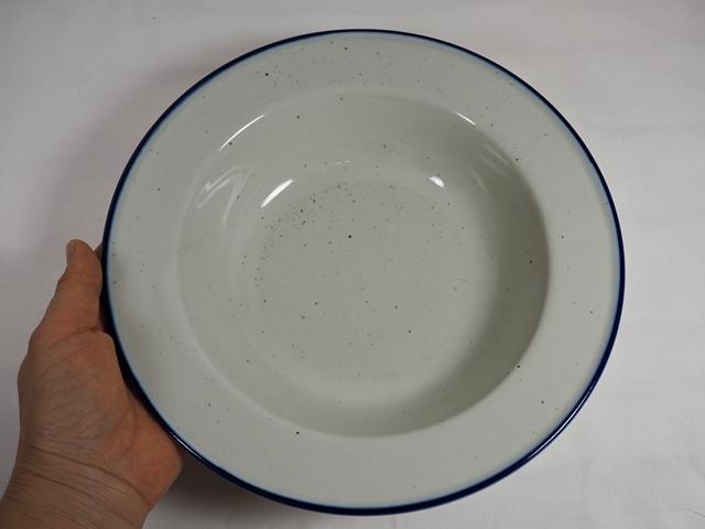Manses Design OVANAKER Soup plate Blue line/モンセスデザイン オーバノーケル スーププレート /ブルーライン