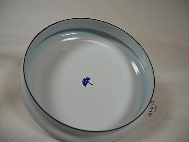 muurla basic series/ムールラ ベーシックシリーズ/琺瑯(ホーロー)製 グラスジャーエナメルリッド S ホワイト 600ml/北欧雑貨