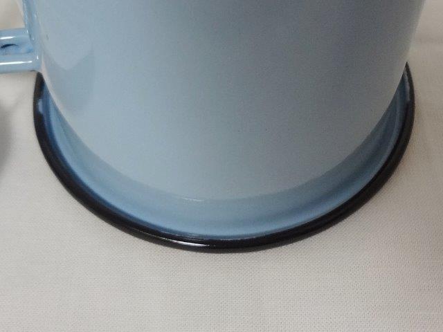 muurla basic series/muurla basic series/ムールラ ベーシックシリーズ/琺瑯(ホーロー)製 エナメルマグ L ブルー 370ml/北欧雑貨