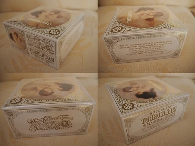 トローニバーチ/TORRONI BACI/イタリアの手作りチョコレートヌガー/340g/19~20袋入り